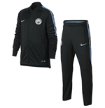 2017-2018 Man City Nike Dry Tracksuit (Outdoor Green) - Kids