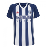 2017-2018 West Bromwich Albion Adidas Home Football Shirt