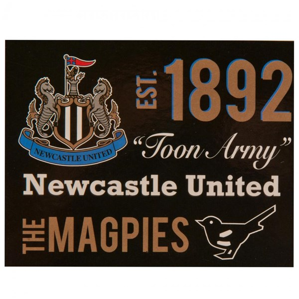 Newcastle United F.C. Sherpa Fleece Blanket