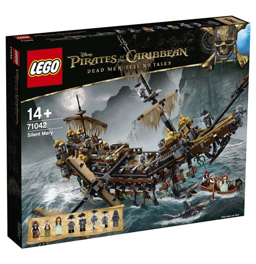 Pirates of Caribbean Lego and MegaBloks 277861