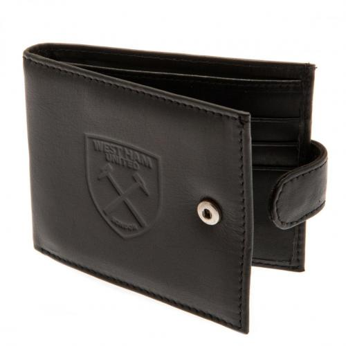 West Ham United F.C. rfid Anti Fraud Wallet