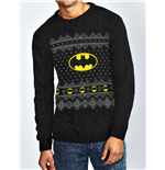 Batman - Logo - Unisex Knitted Sweater Black