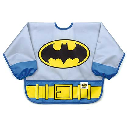 BATMAN Costume Sleeved Bib