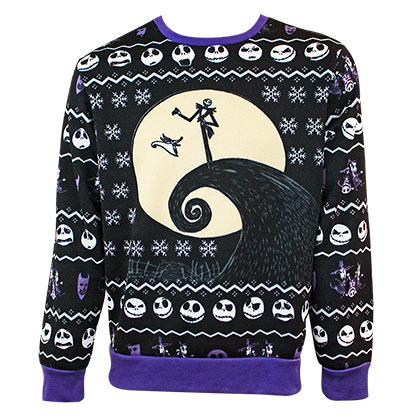 NIGHTMARE BEFORE CHRISTMAS Ugly Sweater