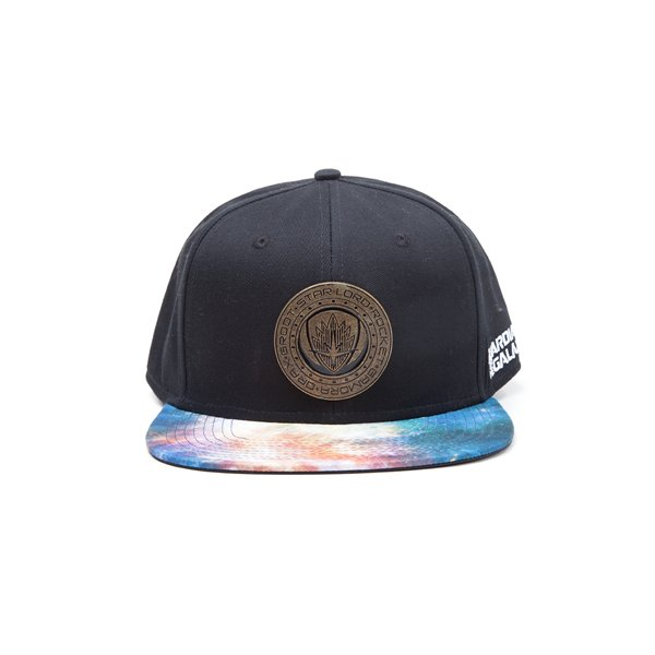 Guardians Of The Galaxy 2 - Logo Metal Badge Snapback Cap