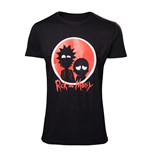 Rick & Morty - Big Red Logo Men's T-shirt