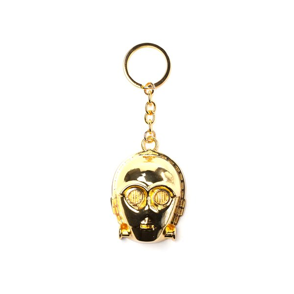 Star Wars - C-3PO 3D Metal Keychain