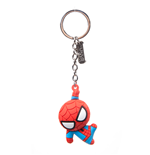 Spiderman - Character 3D Rubber Keychain