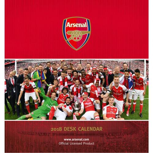 Arsenal F.C. Desktop Calendar 2018