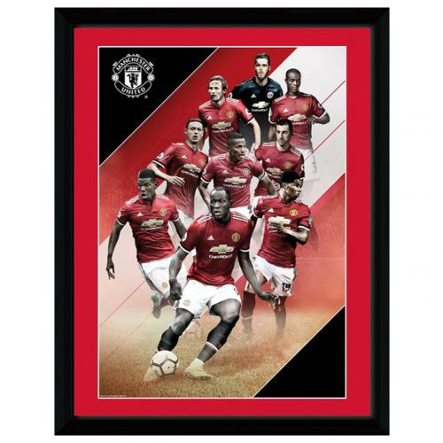 Manchester United F.C. Picture Players 16 x 12