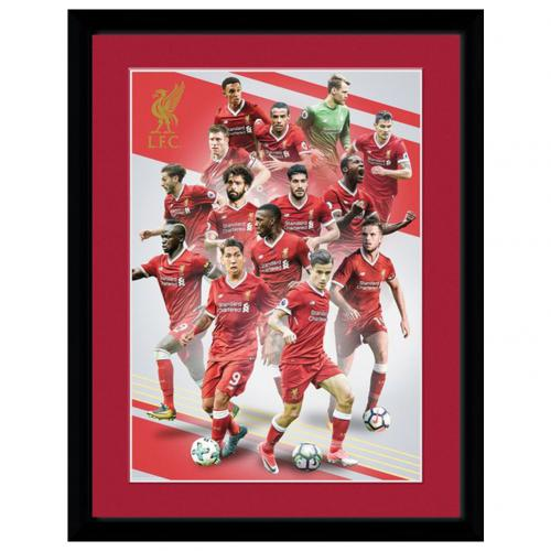Liverpool F.C. Picture Players 16 x 12