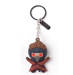 Marvel - Peter Quill Character 3D Rubber Keychain