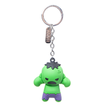 Marvel - The Hulk Character 3D Rubber Keychain
