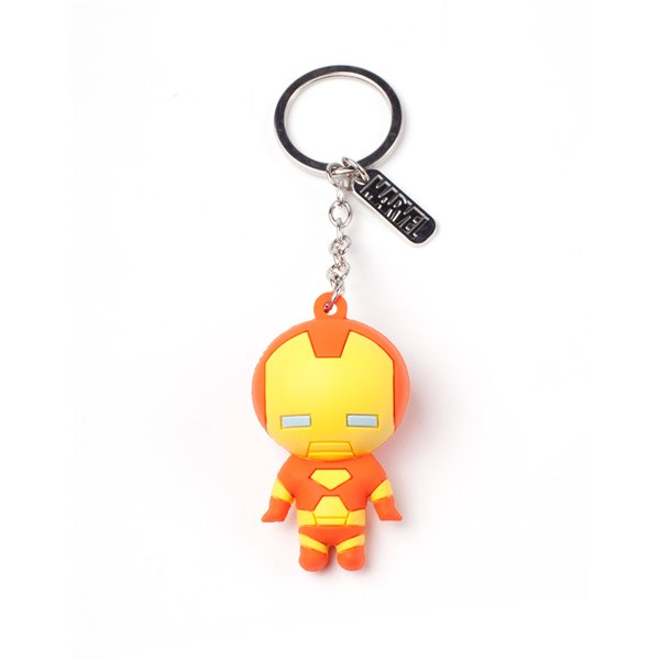 Iron Man - Character 3D Rubber Keychain