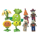 Plants vs Zombies Buildable K'NEX Figures 5 cm Wave 5 Display (48)