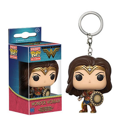 WONDER WOMAN Funko Pop Keychain