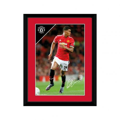 Manchester United F.C. Picture Rashford 8 x 6