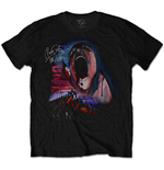 Pink Floyd Men's Tee: The Wall Scream & Hammers