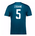 2017-18 Real Madrid Third Shirt (Zidane 5) - Kids