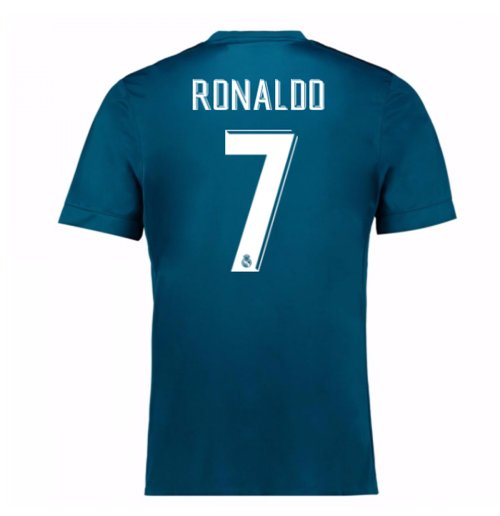 2017-18 Real Madrid Third Shirt (Ronaldo 7)