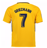 2017-18 Atletico Madrid Away Shirt (Griezmann 7)