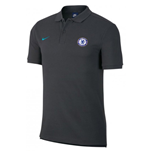 2017-2018 Chelsea Nike Core Polo Shirt (Anthracite)