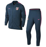 2017-2018 Atletico Madrid Nike Woven Tracksuit (Space Blue)