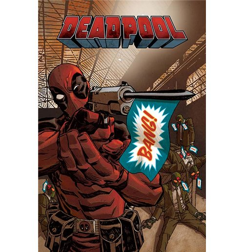 Deadpool Poster - Bang - 61X91,5 Cm