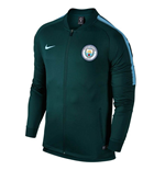 2017-2018 Man City Nike Core Trainer Jacket (Outdoor Green) - Kids