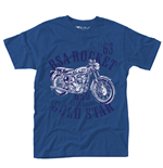 Bsa T-shirt Rocket Gold Star