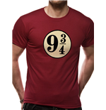 Harry Potter - Platform 9 3/4s - Unisex T-shirt Red