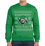 Batman - Ha Ha Happy Holidays - Unisex Sweatshirt Green