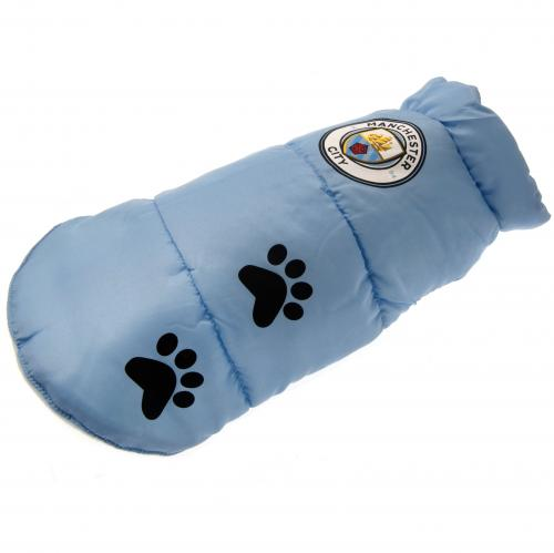 Manchester City F.C. Dog Coat Medium