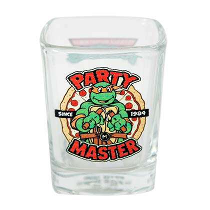 TEENAGE MUTANT NINJA TURTLES Party Master Shot Glass