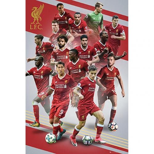 Liverpool F.C. Poster Players 16