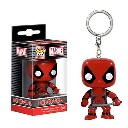 DEADPOOL Funko Pop Keychain