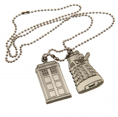 Doctor Who Dog Tags