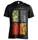 Game of Thrones T-Shirt 4 Logos