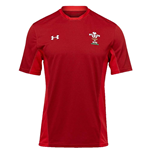 2018-2019 Wales Rugby WRU Training Tee (Red)
