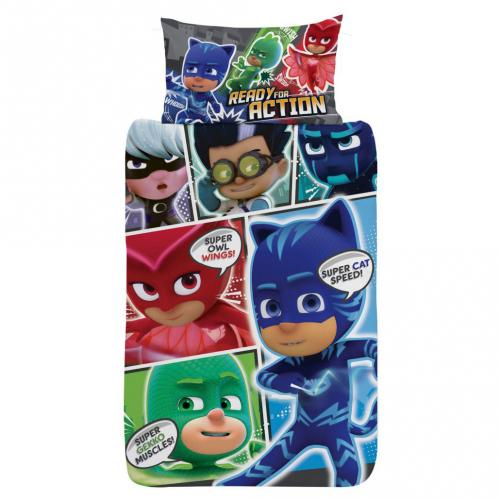 PJ Masks Single Duvet Set