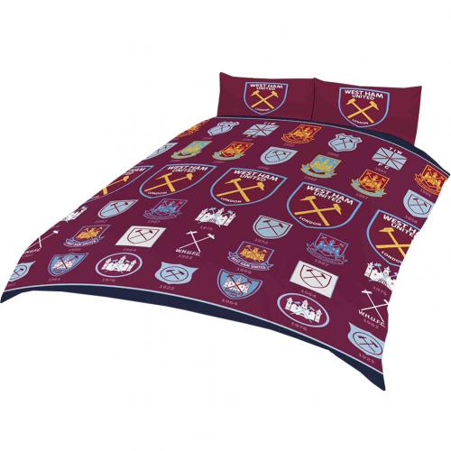 West Ham United F.C. Double Duvet Set HC