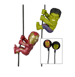 Scalers - Avengers Age Of Ultron Hulk & Iron Man Earphones - Scaler