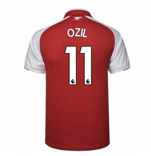 2017-18 Arsenal Home Shirt - Kids (Ozil 11)