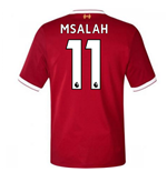 2017-18 Liverpool Home Short Sleeve (Kids) (M Salah 11)