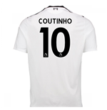 2017-18 Liverpool Away Shirt (Coutinho 10)