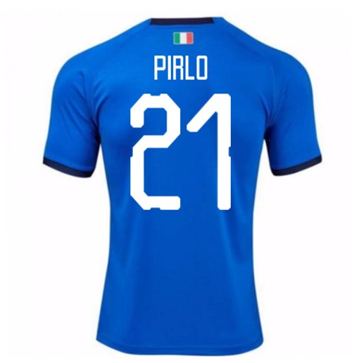 2018-19 Italy Home Shirt (Pirlo 21)