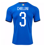 2018-19 Italy Home Shirt (Chiellini 3)