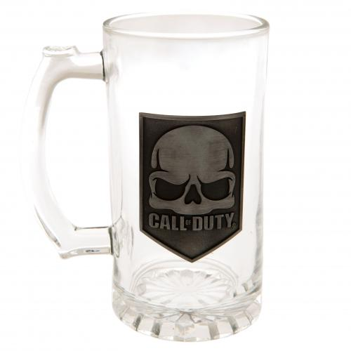 Call Of Duty Glass Tankard