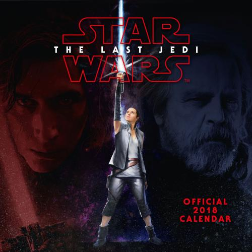 Star Wars The Last Jedi Calendar 2018