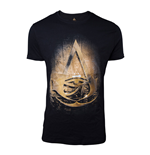 ASSASSIN'S CREED Origins Men's Hieroglyph Crest T-Shirt, Extra Extra Large, Black